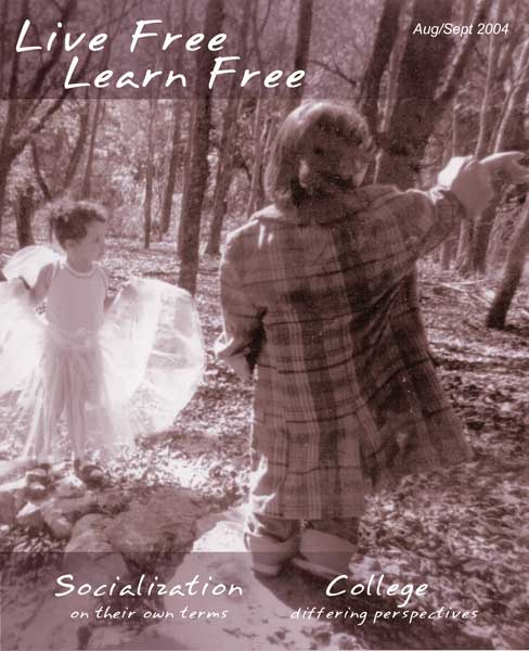 Unschooling with Live Free Learn Free - Issue One