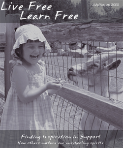 Unschooling with Live Free Learn Free - Issue Six