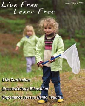 Unschooling with Live Free Learn Free - Issue Ten