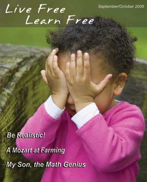 Unschooling with Live Free Learn Free - Issue Twelve