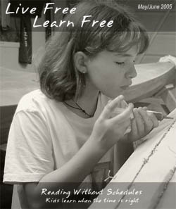 Unschooling with Live Free Learn Free - Issue Five
